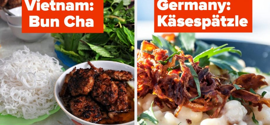 32 Must-Try Dishes From Countries Around The World