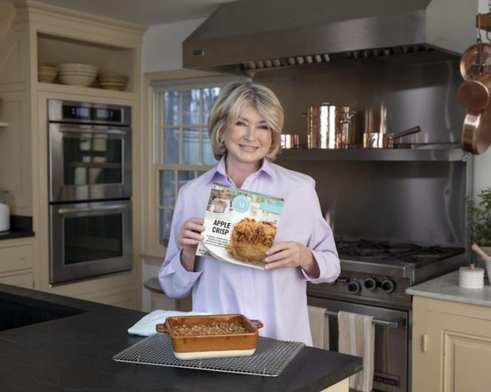 Martha Just Launched a Gourmet Frozen Food Line, Featuring Everything from Appetizers to Desserts