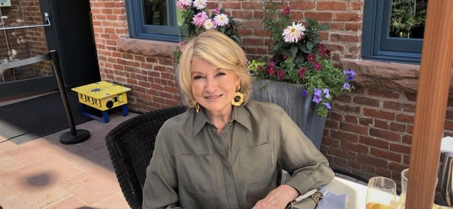 Martha Stewart discusses new frozen-food product line | News